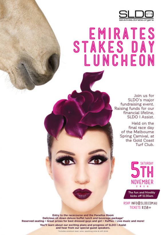 Emirates Stakes Day Luncheon | Gold Coast Fundraising Event